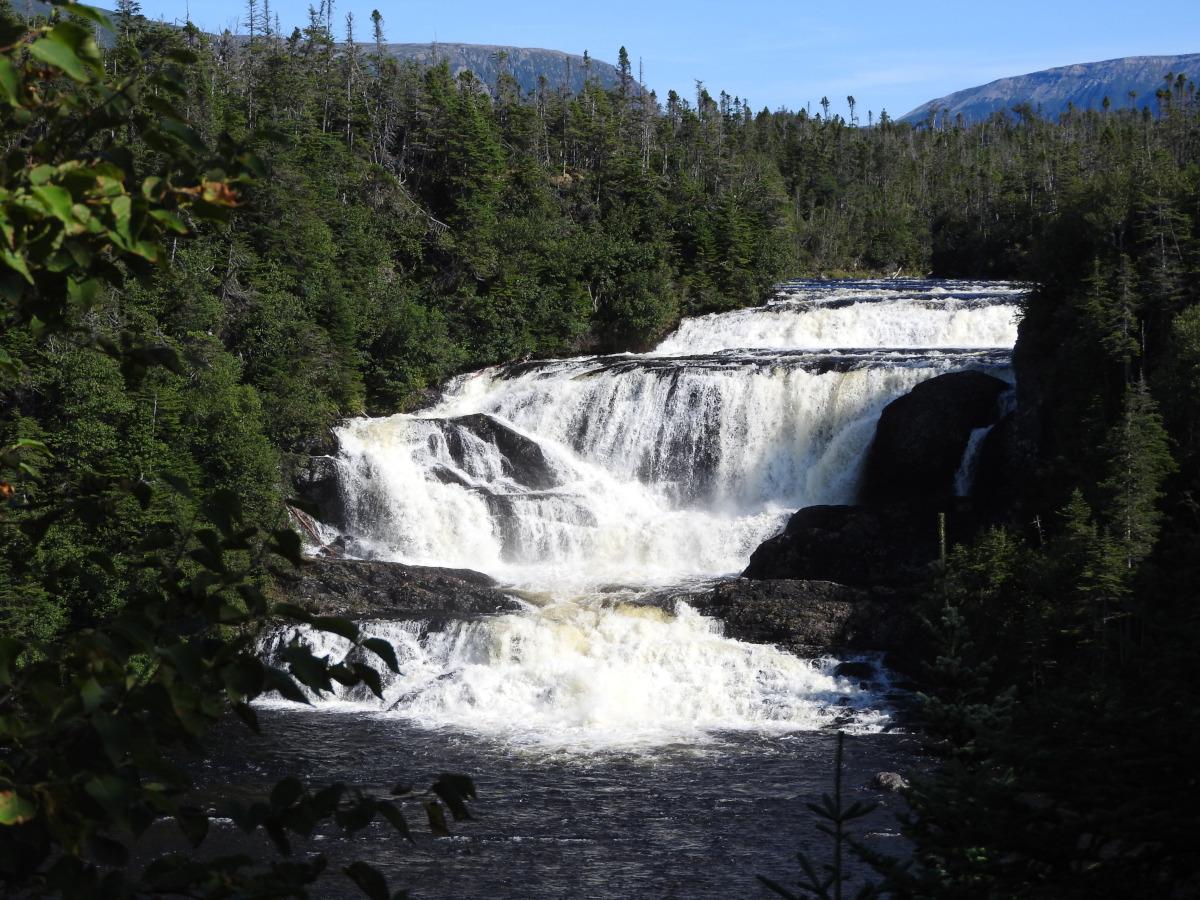Baker's Brook Falls   Gros Morne National Park